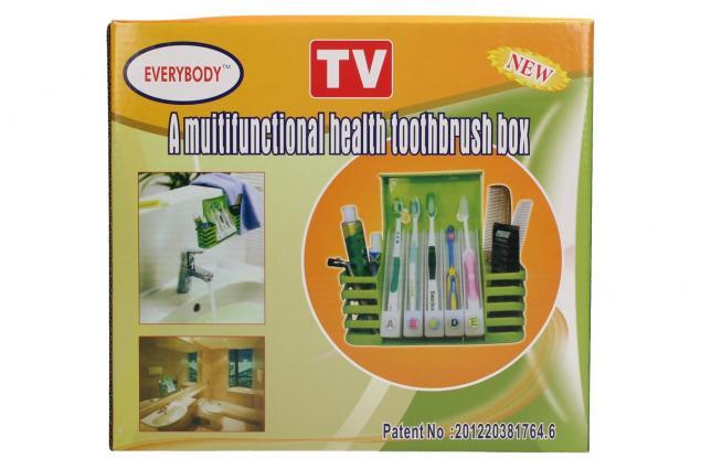 Foto 2 - Multifunkční držák na zubní kartáčky