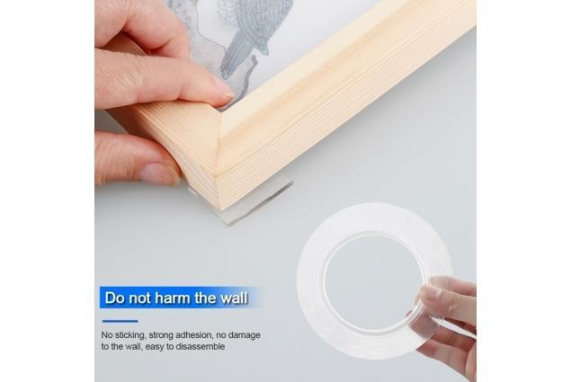Foto 5 - Oboustranná nano gelová lepící páska 160 x 3 cm