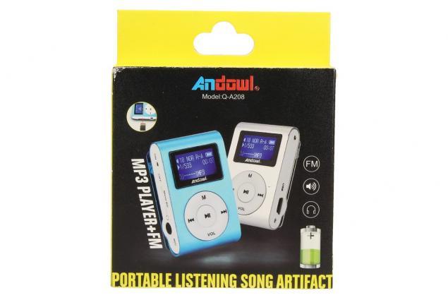 Foto 9 - MP3 přehrávač mini s displejem Andowl Q-A208