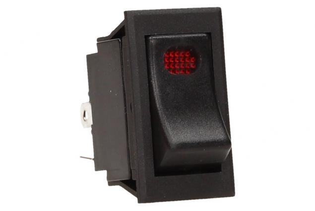 Foto 2 - Kolébkový přepínač s kontrolkou