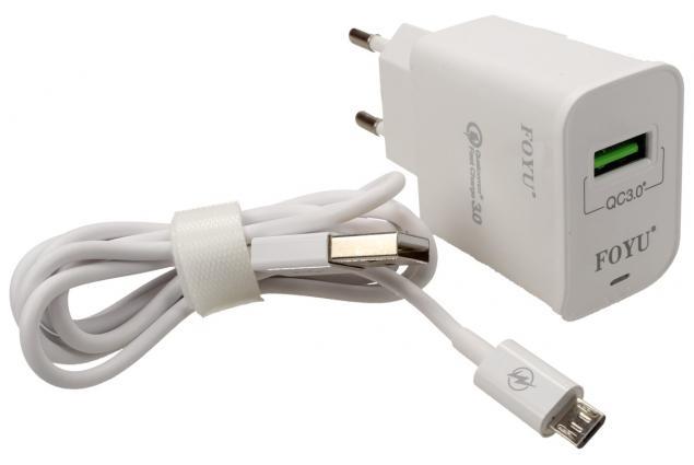 Foto 2 - Micro USB super rychlá nabíječka FOYU