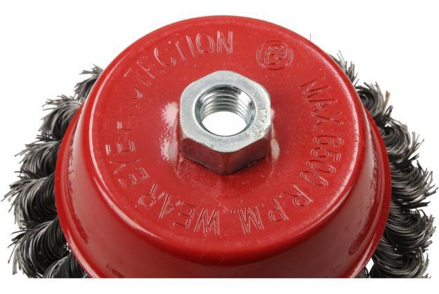 Foto 5 - Drátěný kartáč hrncový copánkový 130 mm