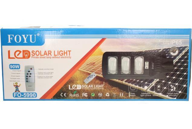 Foto 8 - LED solární venkovní světlo 90W na dálkové ovládání