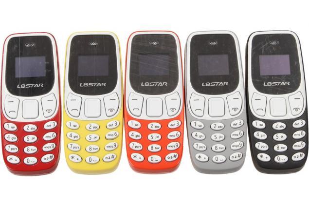 Foto 3 - Mini mobilní telefon 3310 dual SIM