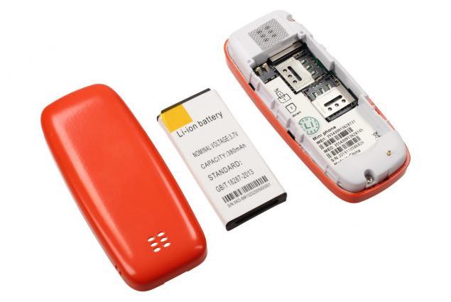 Foto 8 - Mini mobilní telefon 3310 dual SIM