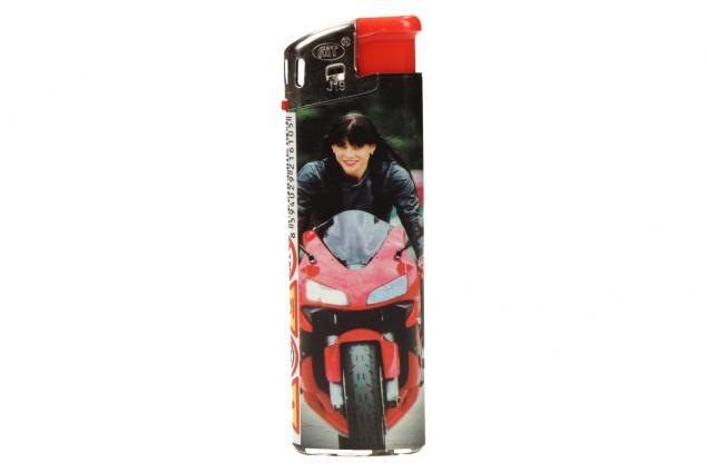 Foto 6 - Sada zapalovačů s motorkáři 50 ks