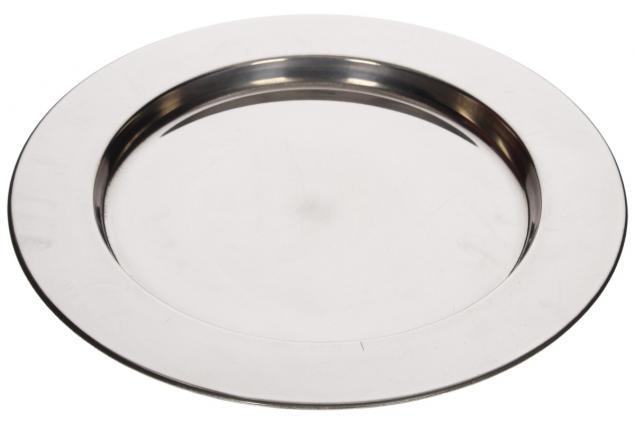 Foto 2 - Nerezový talíř velký 28 cm