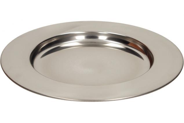 Foto 2 - Nerezový talíř malý 24 cm