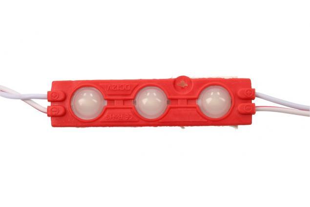 Foto 4 - Nalepovací silná tříbodová LED dioda červená