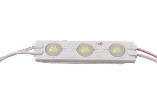Foto 4 - Nalepovací silná tříbodová LED dioda bílá
