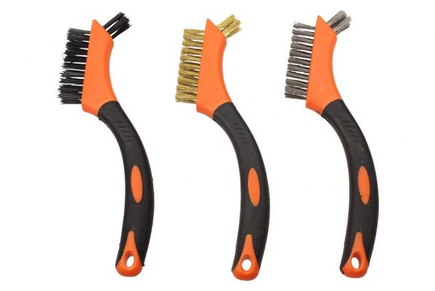 Foto 3 - Sada čistících kartáčů 3ks SDY-97363