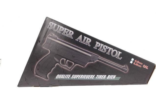 Foto 12 - Vzduchová pistole jednoruční černá