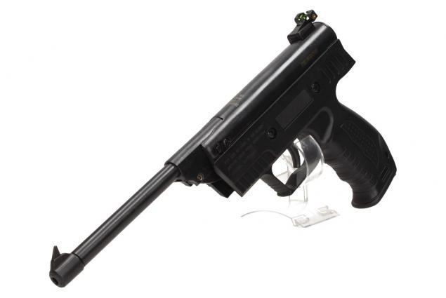 Foto 6 - Vzduchová pistole jednoruční černá