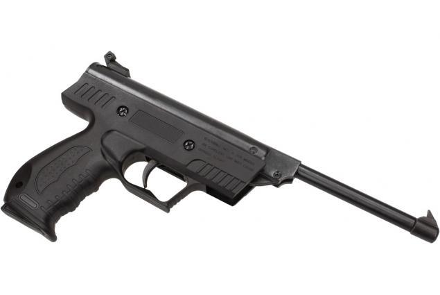 Foto 5 - Vzduchová pistole jednoruční černá