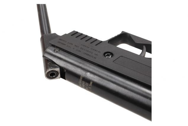 Foto 11 - Vzduchová pistole jednoruční černá