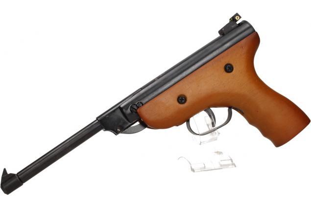 Foto 5 - Vzduchová pistole jednoruční dřevěná (ráže 5,5mm)