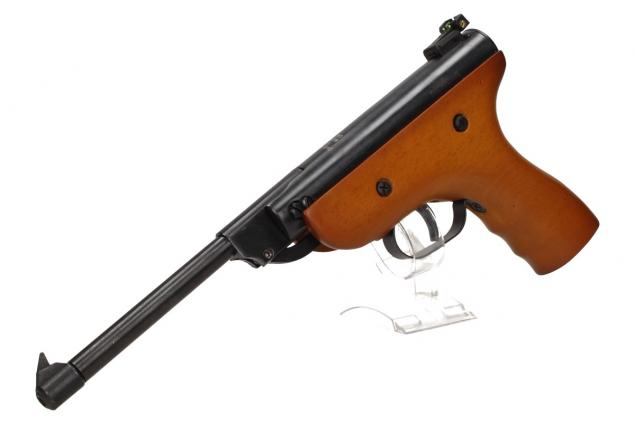 Foto 6 - Vzduchová pistole jednoruční dřevěná