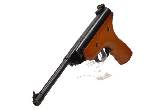 Foto 7 - Vzduchová pistole jednoruční dřevěná