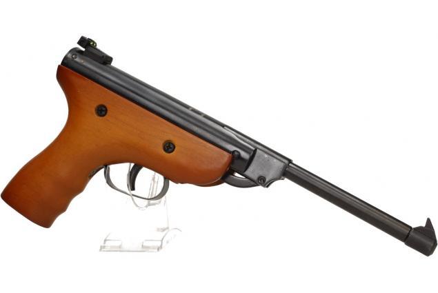 Foto 8 - Vzduchová pistole jednoruční dřevěná (ráže 5,5mm)
