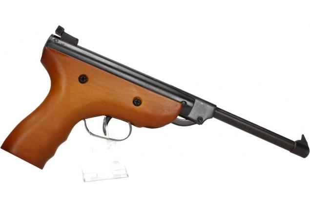 Foto 9 - Vzduchová pistole jednoruční dřevěná (ráže 5,5mm)
