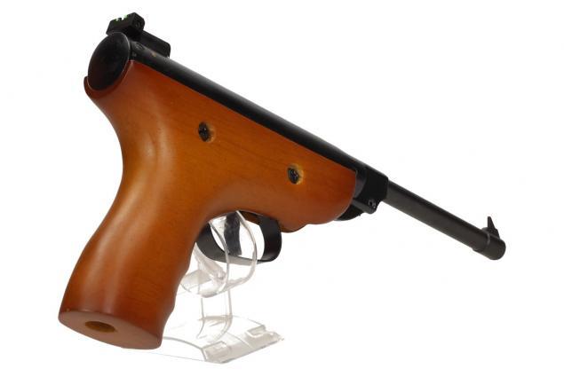 Foto 10 - Vzduchová pistole jednoruční dřevěná