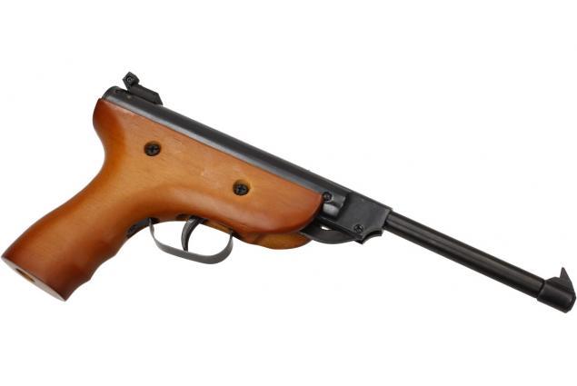 Foto 4 - Vzduchová pistole jednoruční dřevěná
