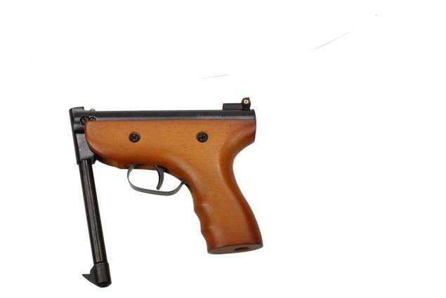 Foto 11 - Vzduchová pistole jednoruční dřevěná