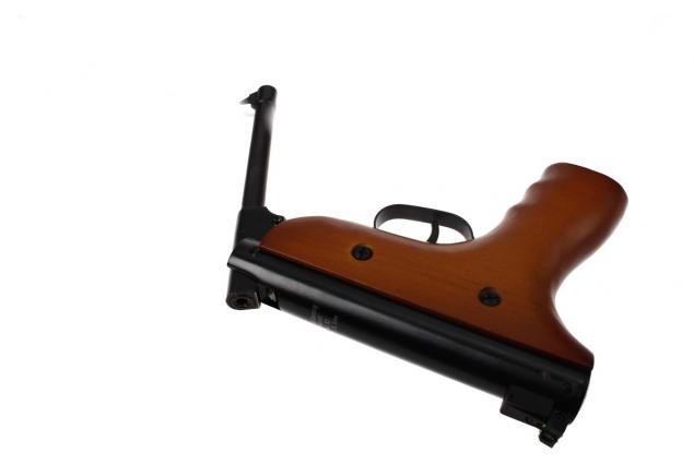Foto 12 - Vzduchová pistole jednoruční dřevěná (ráže 5,5mm)