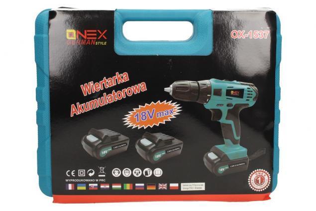Foto 9 - AKU vrtačka ONEX OX-1536