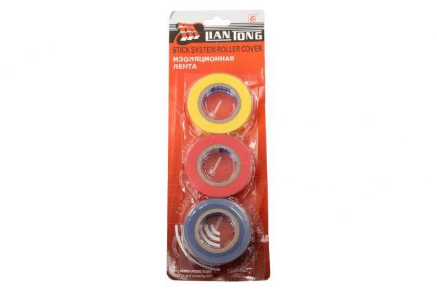 Foto 5 - 3ks Elektroizolačních pásek 15mm x 15m- modrá, žlutá, červená