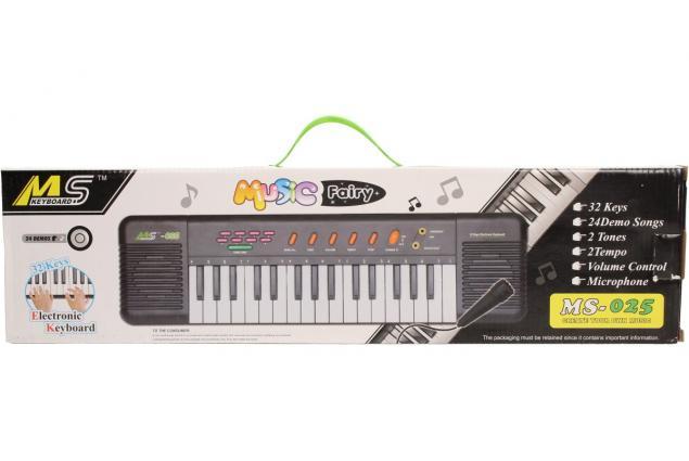 Foto 11 - Přenosné klávesy MS-025 s mikrofonem