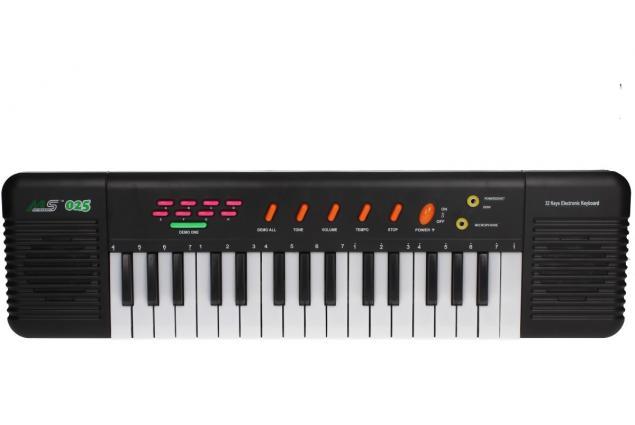 Foto 7 - Přenosné klávesy MS-025 s mikrofonem