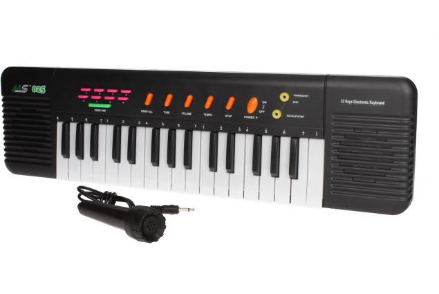Foto 10 - Přenosné klávesy MS-025 s mikrofonem