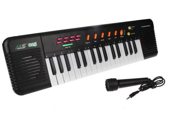 Foto 4 - Přenosné klávesy MS-025 s mikrofonem