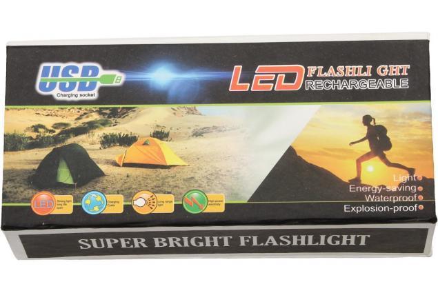 Foto 11 - Superjasná LED kapesní svítilna s klipem