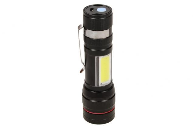 Foto 7 - Superjasná LED kapesní svítilna s klipem