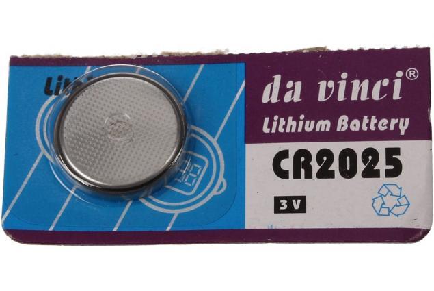 Foto 5 - Knoflíková baterie CR2025 3V 1 kus