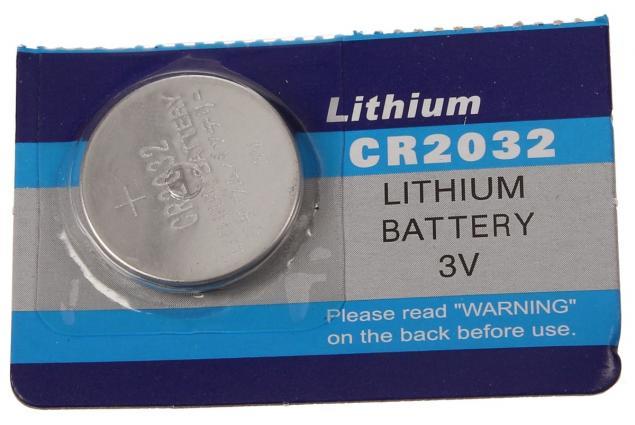 Foto 5 - Knoflíková baterie CR2032 3V 1 kus