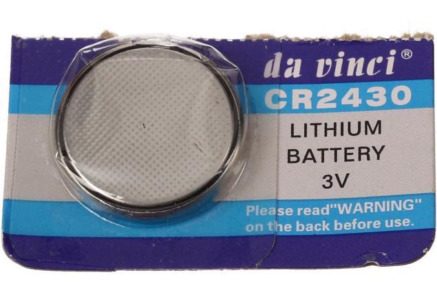 Foto 4 - Knoflíková baterie CR2430 3V 1 kus