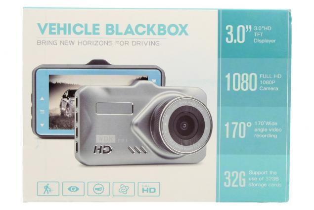 Foto 9 - Kamera do auta Vehicle Blackbox TACHOGRAPH