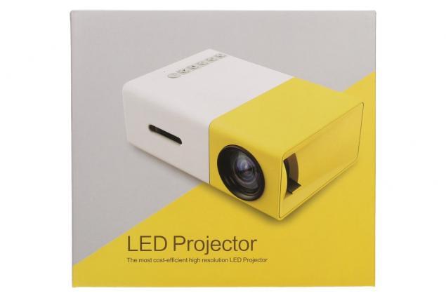 Foto 13 - Mini LED projektor žlutý YG300