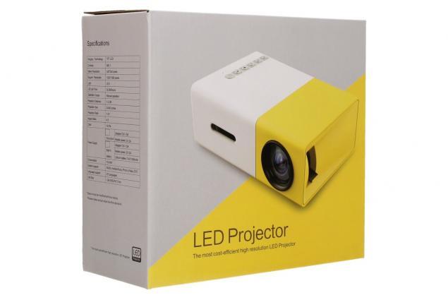 Foto 14 - Mini LED projektor žlutý YG300