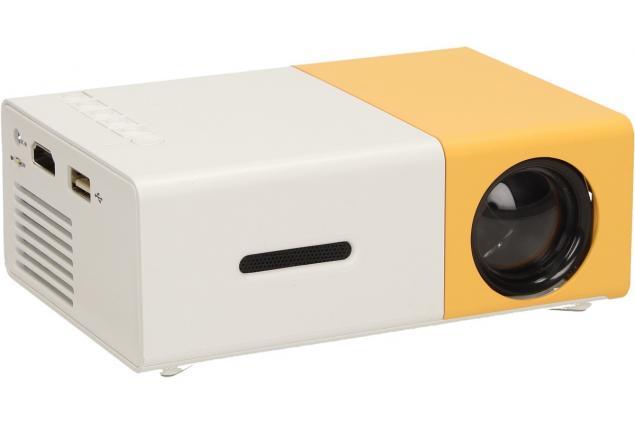 Foto 5 - Mini LED projektor žlutý YG300