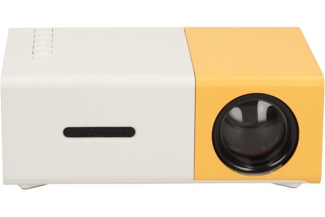 Foto 4 - Mini LED projektor žlutý YG300