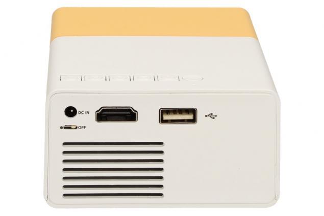 Foto 6 - Mini LED projektor žlutý YG300