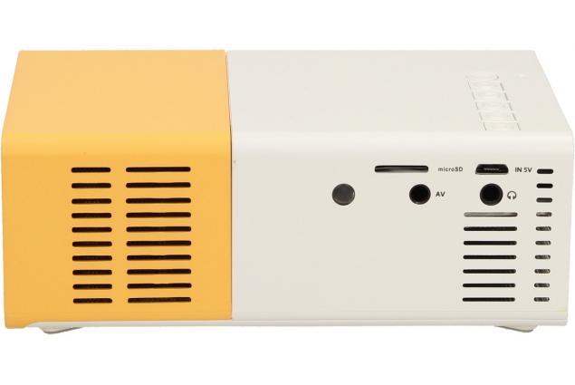 Foto 7 - Mini LED projektor žlutý YG300