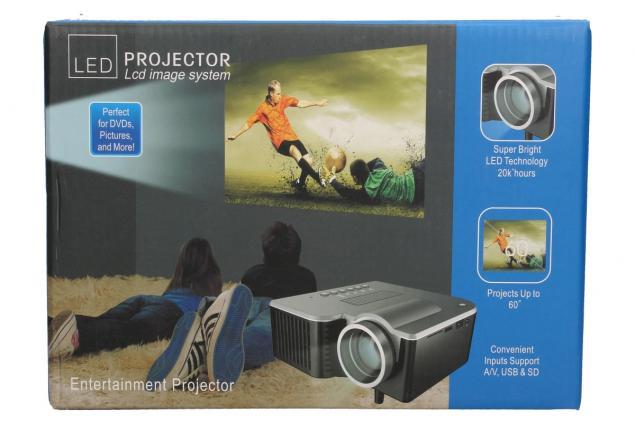 Foto 12 - Mini LED Lcd projektor cUC28