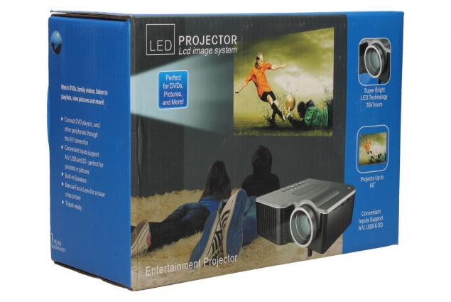 Foto 13 - Mini LED Lcd projektor cUC28