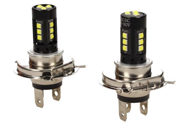 Foto 2 - LED žárovky H4 super svítivá 2 kusy