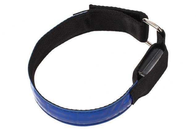 Foto 2 - LED svítící obojek pro psy modrý 32 cm